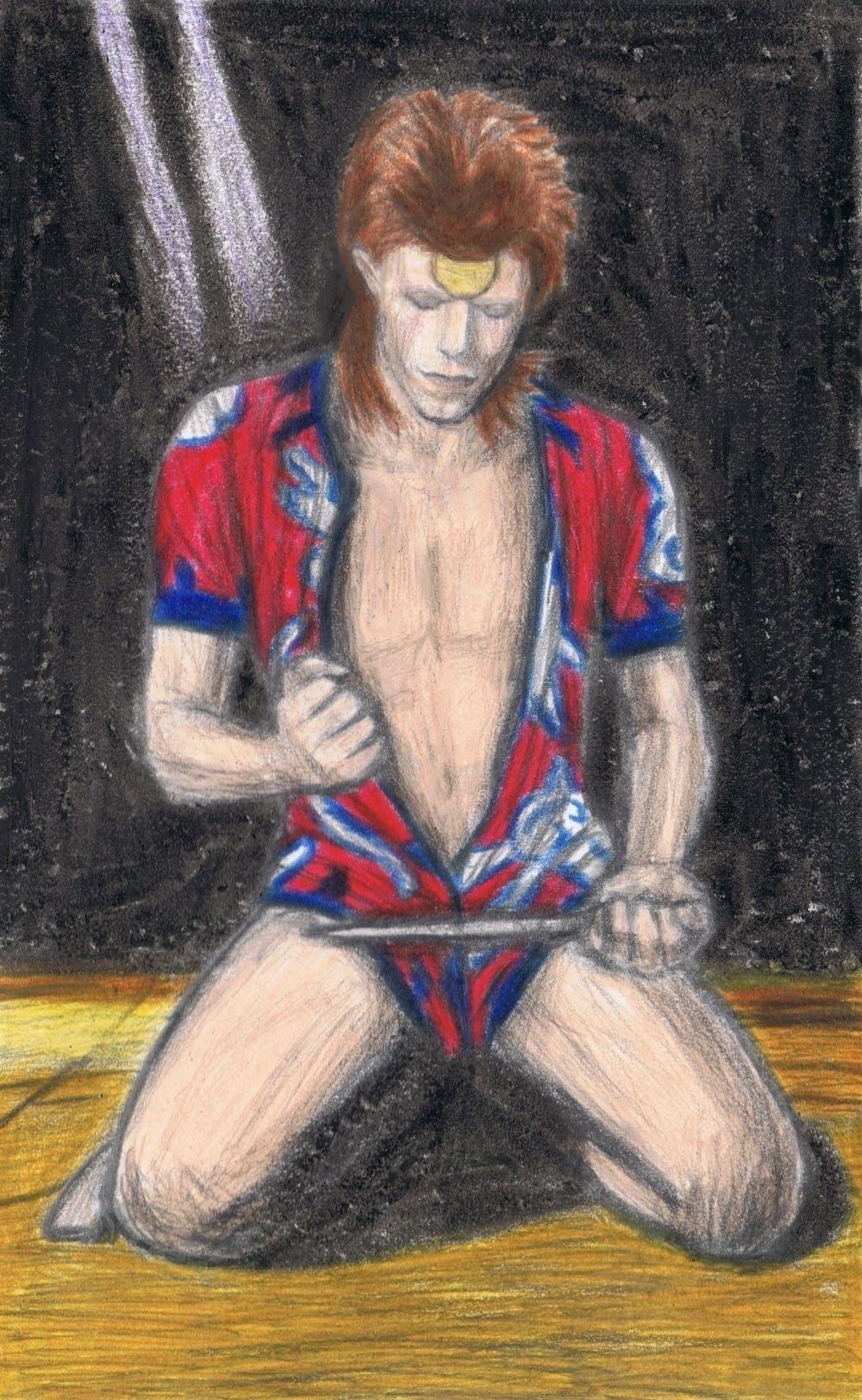 Ziggy Stardust Rock 'n' Roll Suicide by gagambo