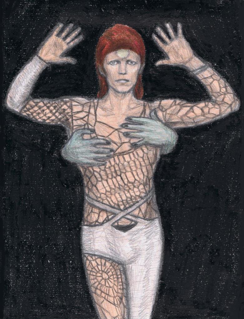 Ziggy stardust 1980 floor show by gagambo on deviantart for 1980 floor show