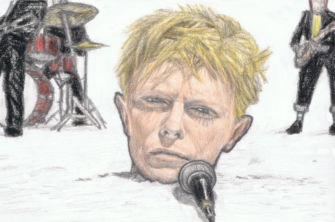 David Bowie 1983 doing live performance by gagambo