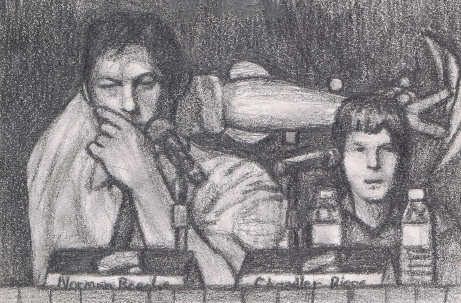 Norman Reedus and Chandler Riggs by gagambo