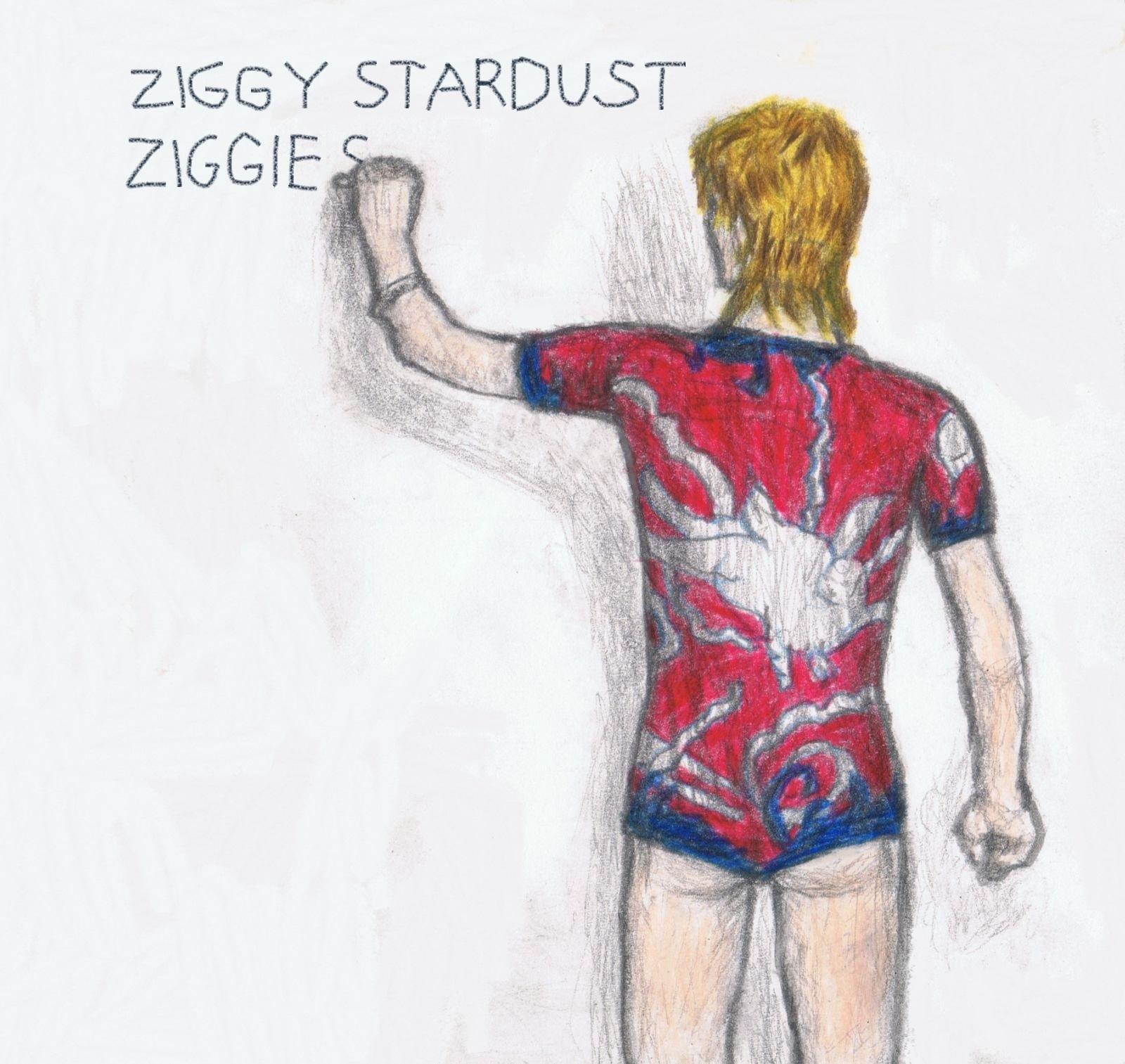 Ziggy 'Ziggie' Stardust by gagambo