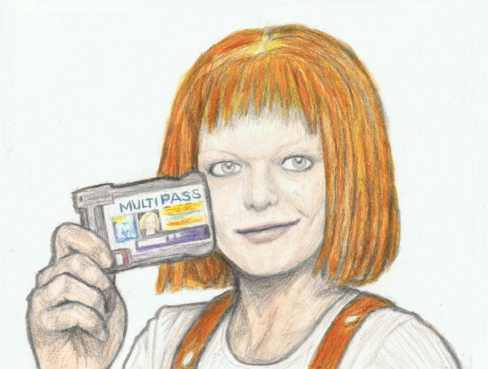 Fifth Element - Leeloo Dallas by gagambo