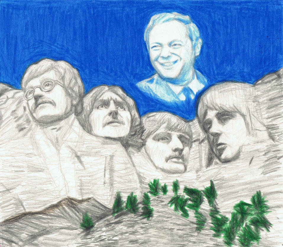 1967 Beatles on Mt Rushmore + Eppy in the sky by gagambo
