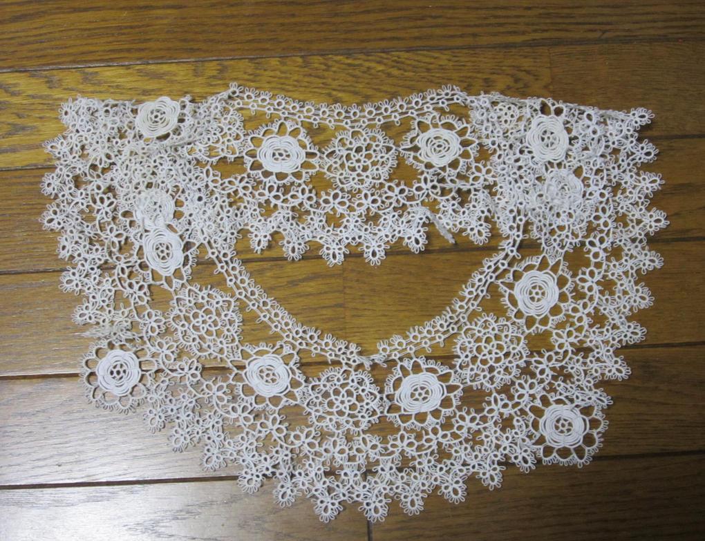 Tatting lace collar by gagambo