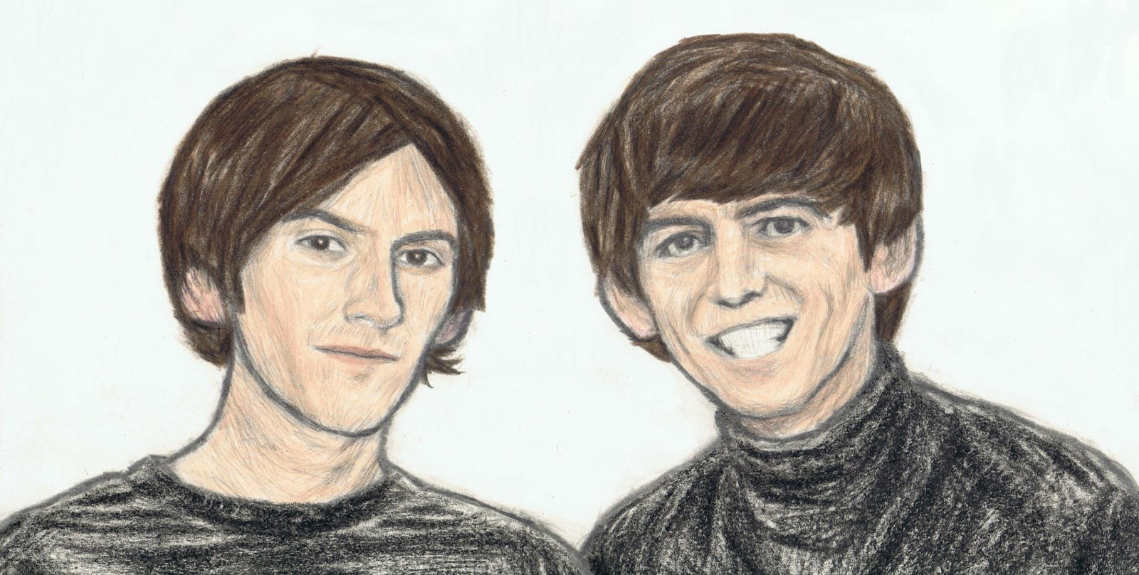 Dhani and George Harrison by gagambo