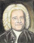 Brian May as J.S.Bach