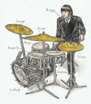 Ringo Starr's drums have names