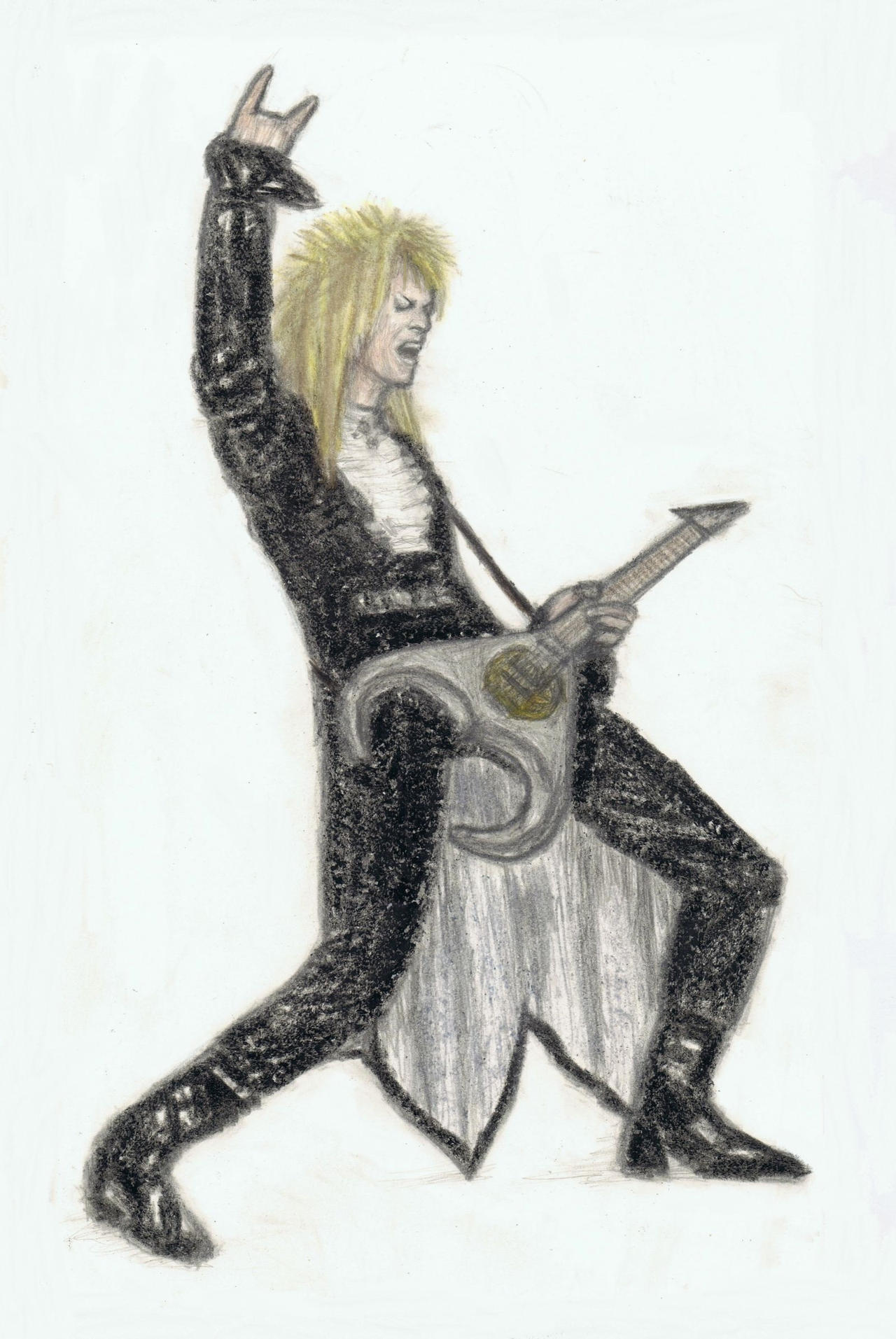 Jareth played guitar by gagambo
