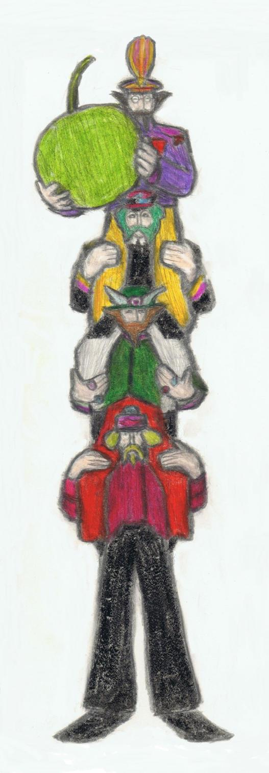 Yellow Submarine shoulder ride by gagambo