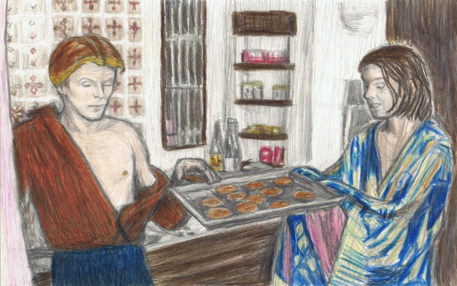 The Man Who Fell To Earth - cookies by gagambo