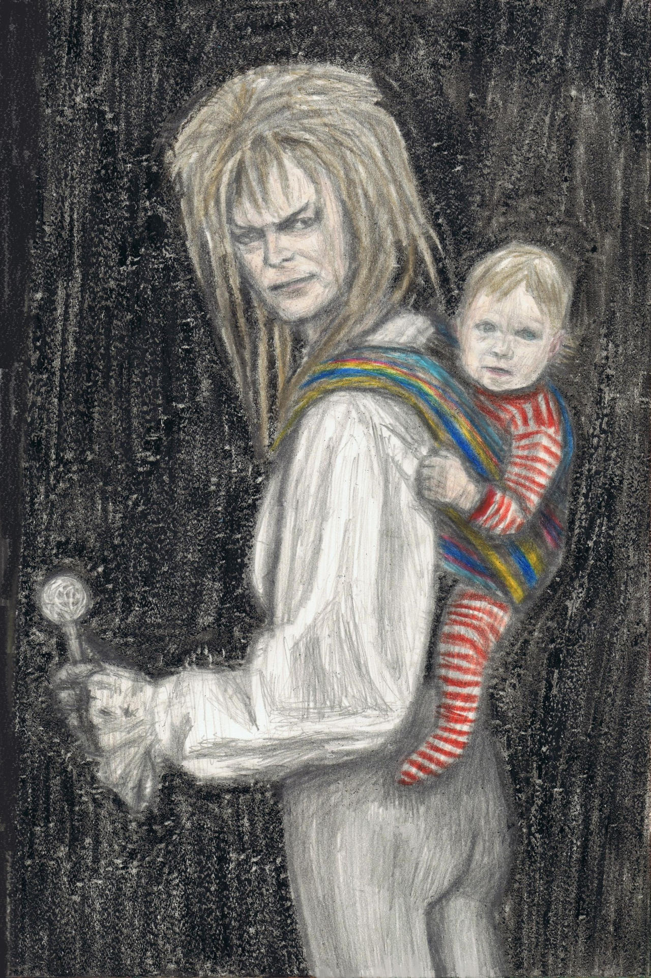 Portrait of Jareth and Toby 2 by gagambo