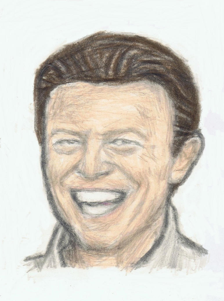 David Bowie does his troll face by gagambo