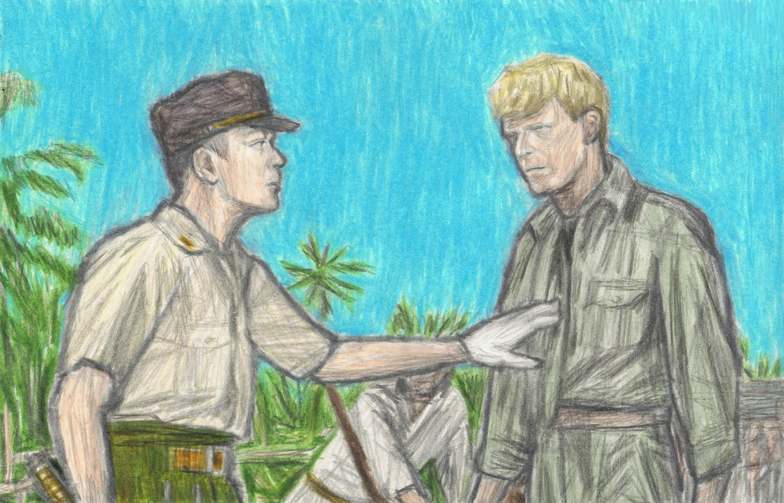 Merry Christmas Mr Lawrence - kiss scene by gagambo
