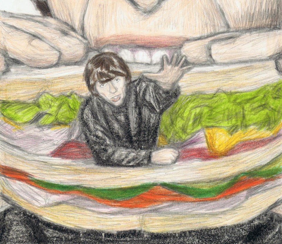 Sandwich George Harrison detail by gagambo