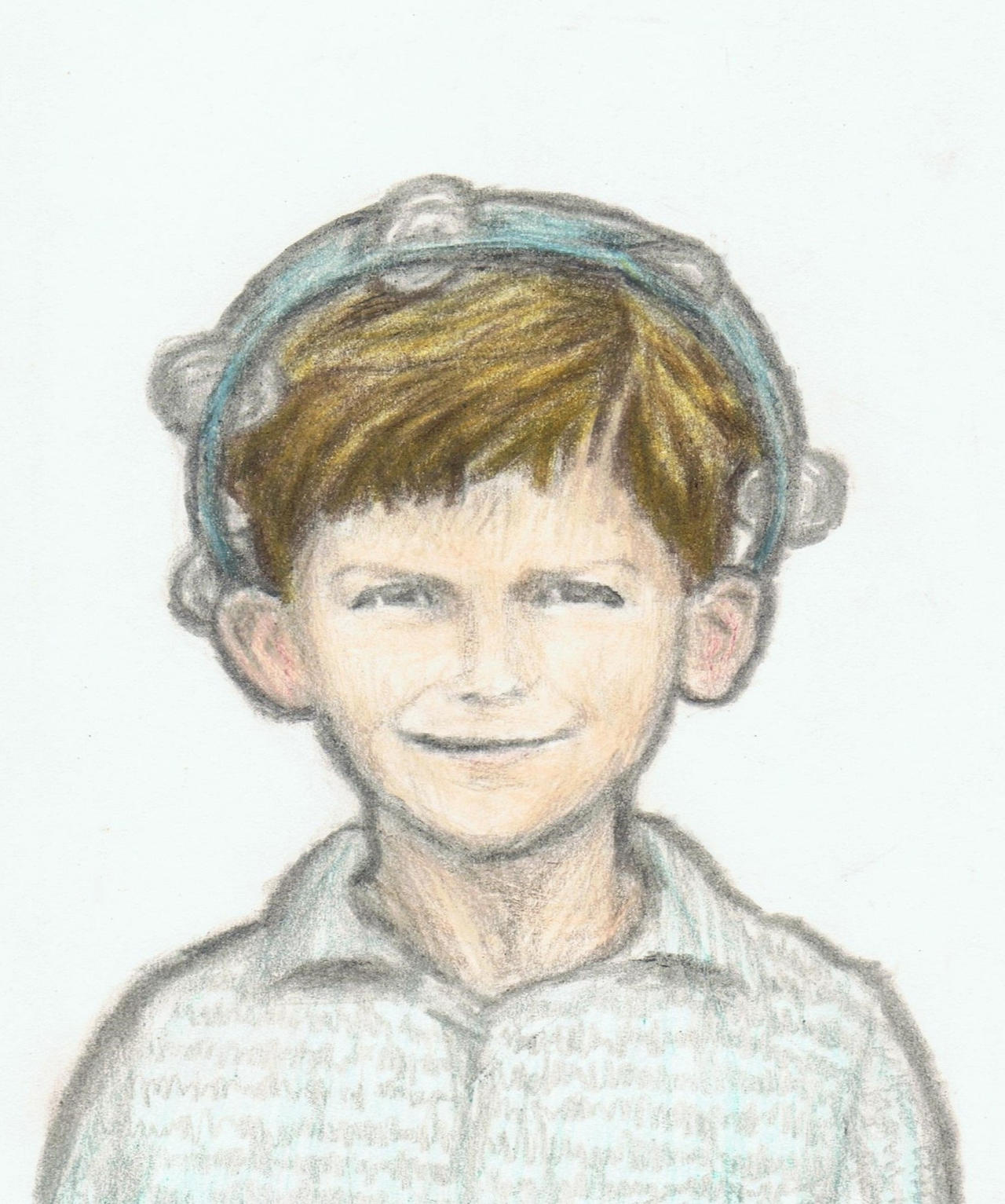 George Tambourineson as a young boy by gagambo