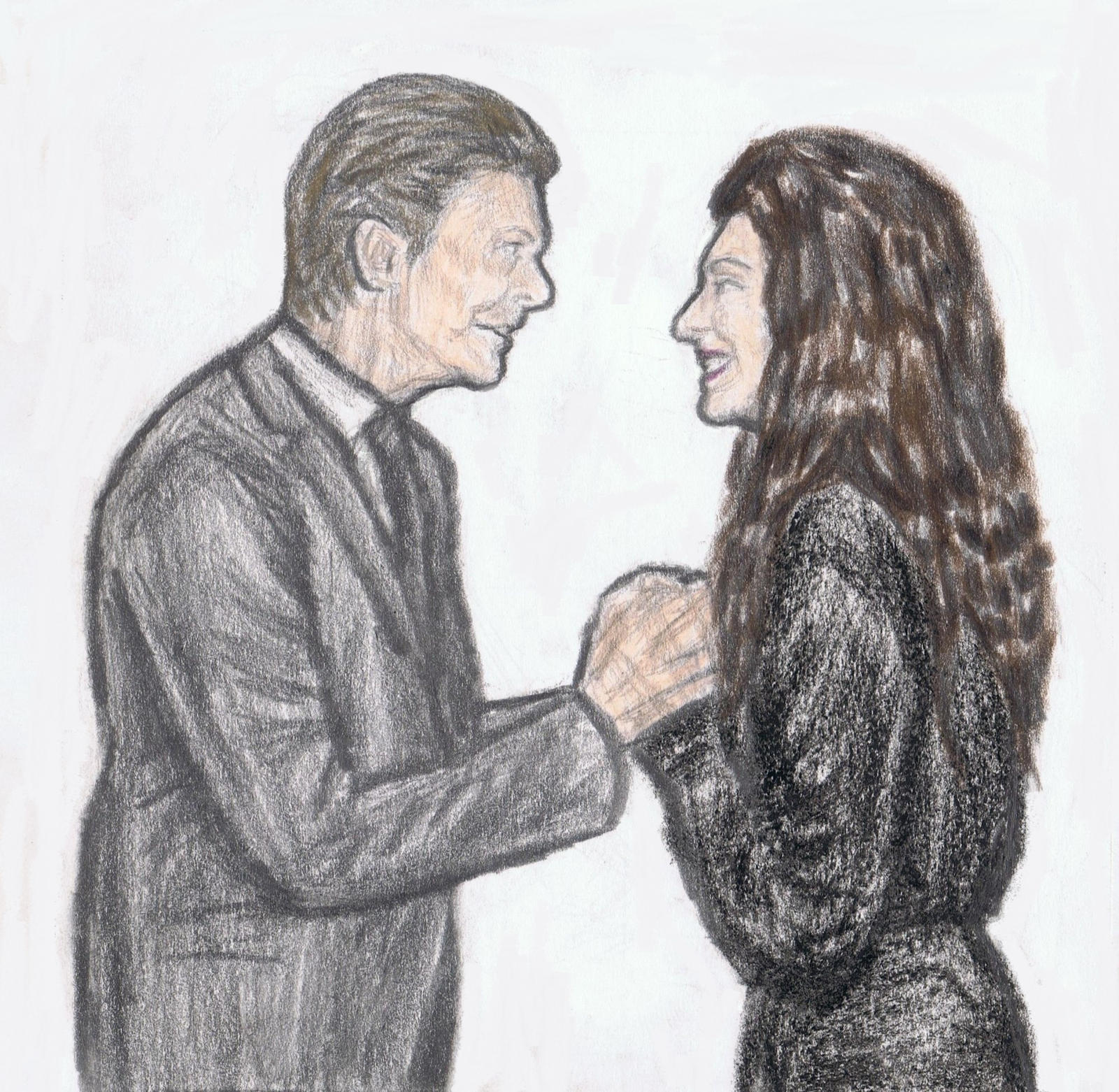 David Bowie talking to Lorde by gagambo