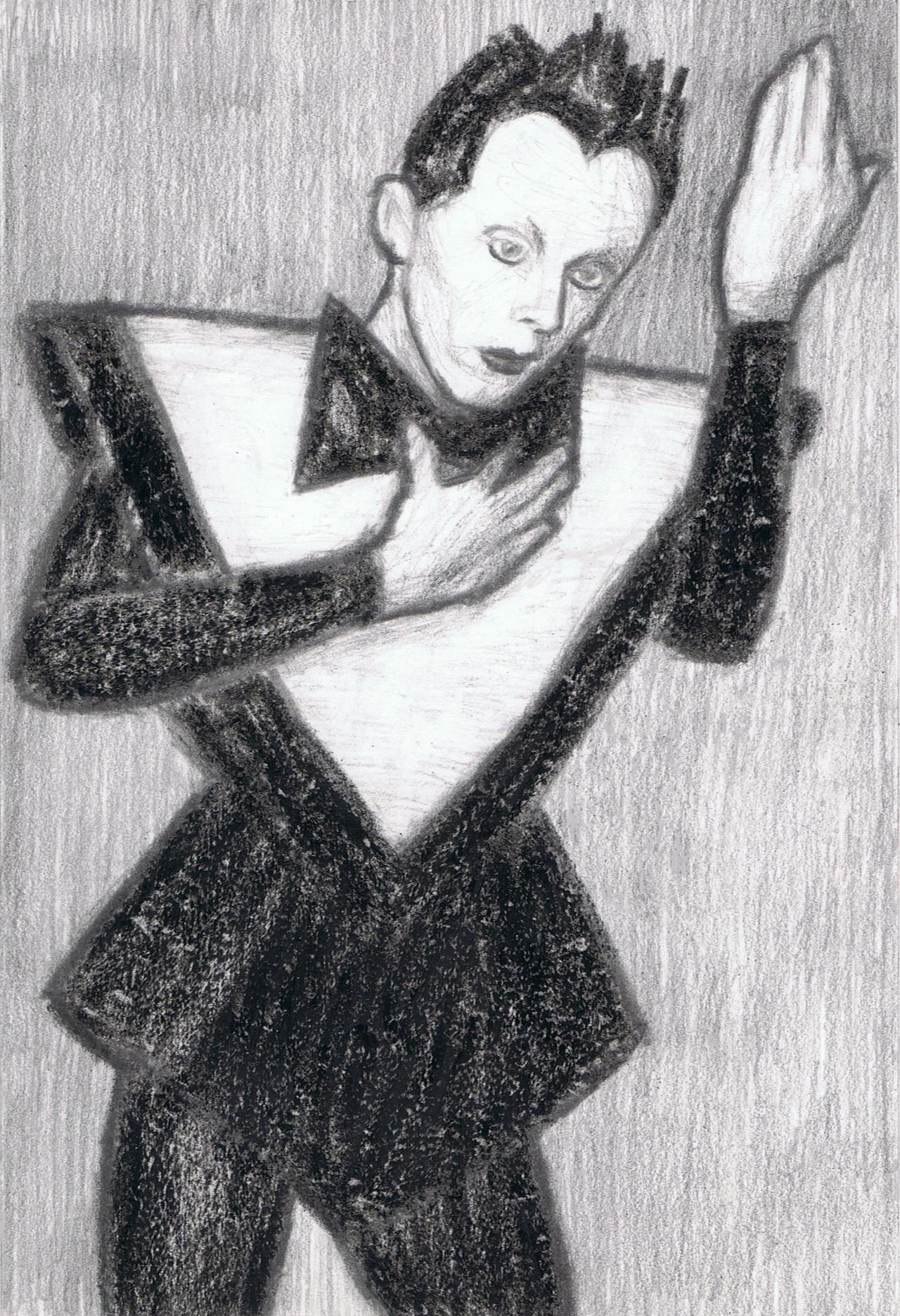Klaus Nomi doing Heroes by gagambo