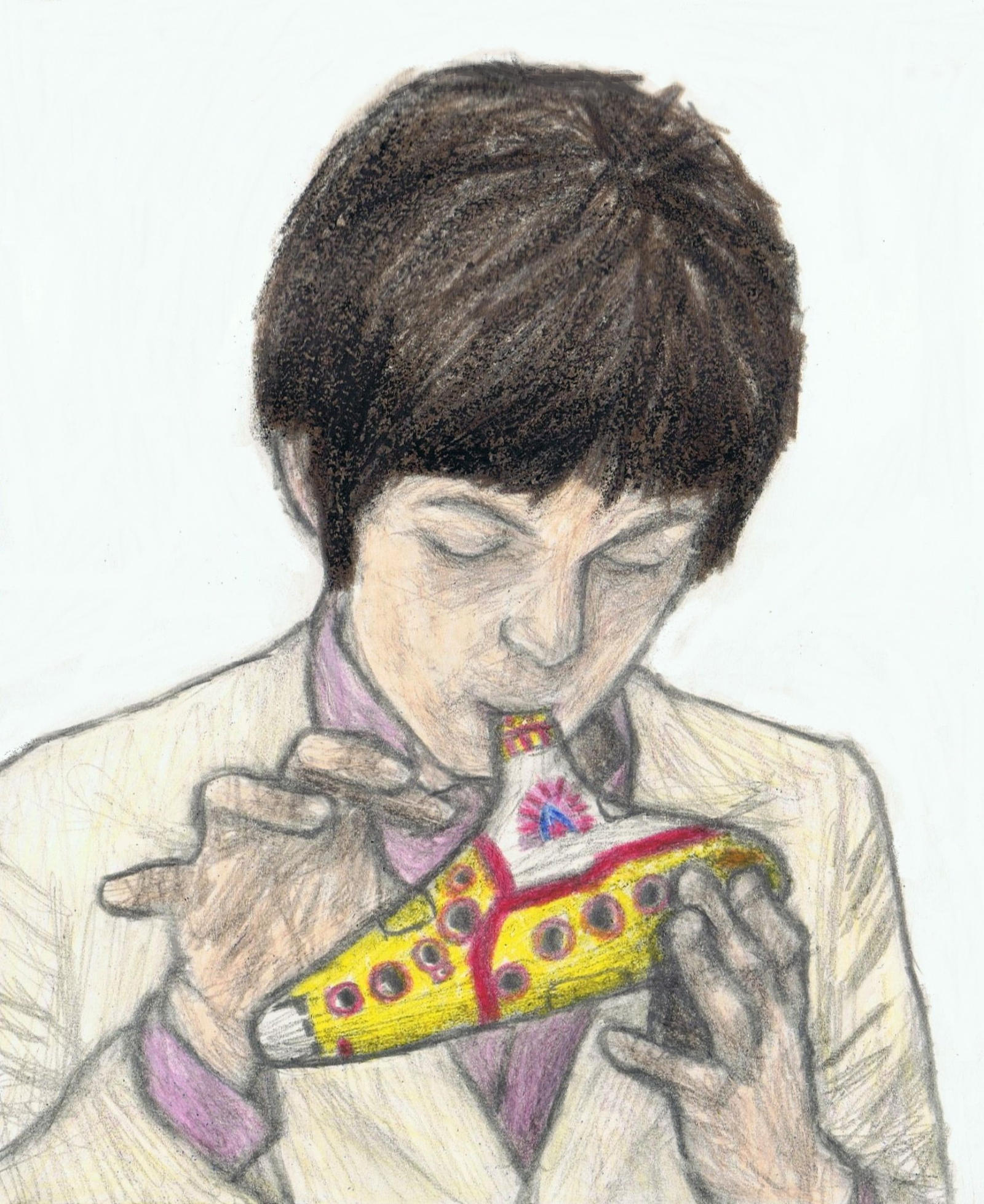 Paul McCartney on ocarina by gagambo