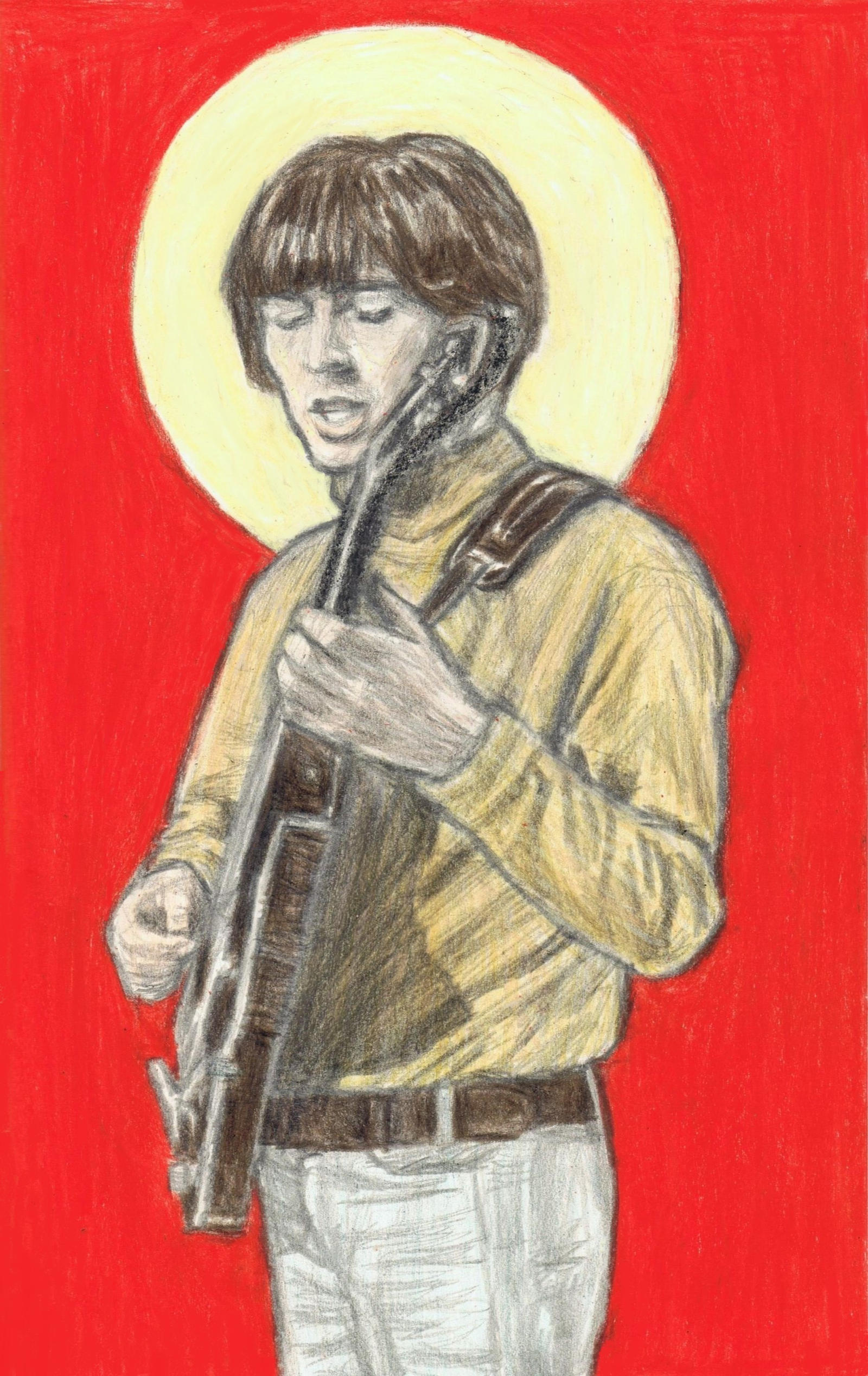 George Harrison is a saint by gagambo