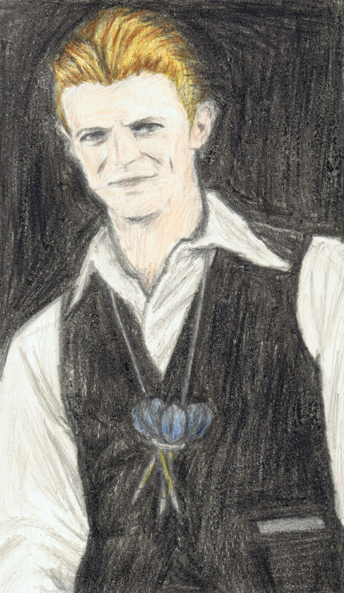 Thin White Duke with a darts holder by gagambo