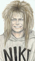 Jareth in a hoodie by gagambo