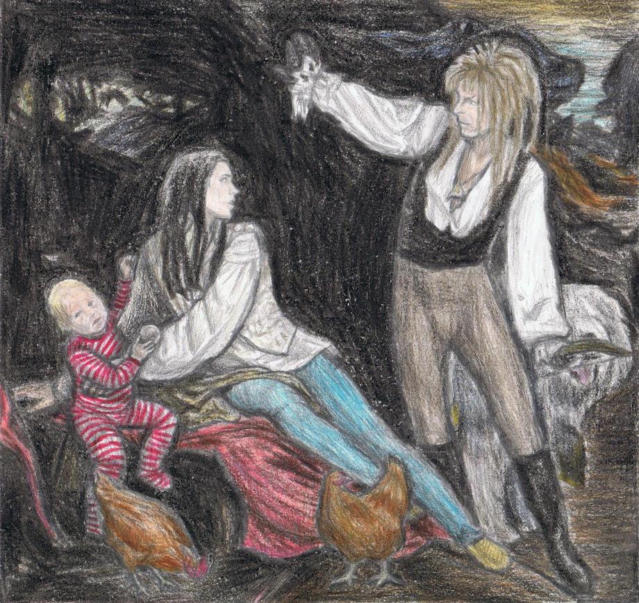 King Jareth goes hunting by gagambo