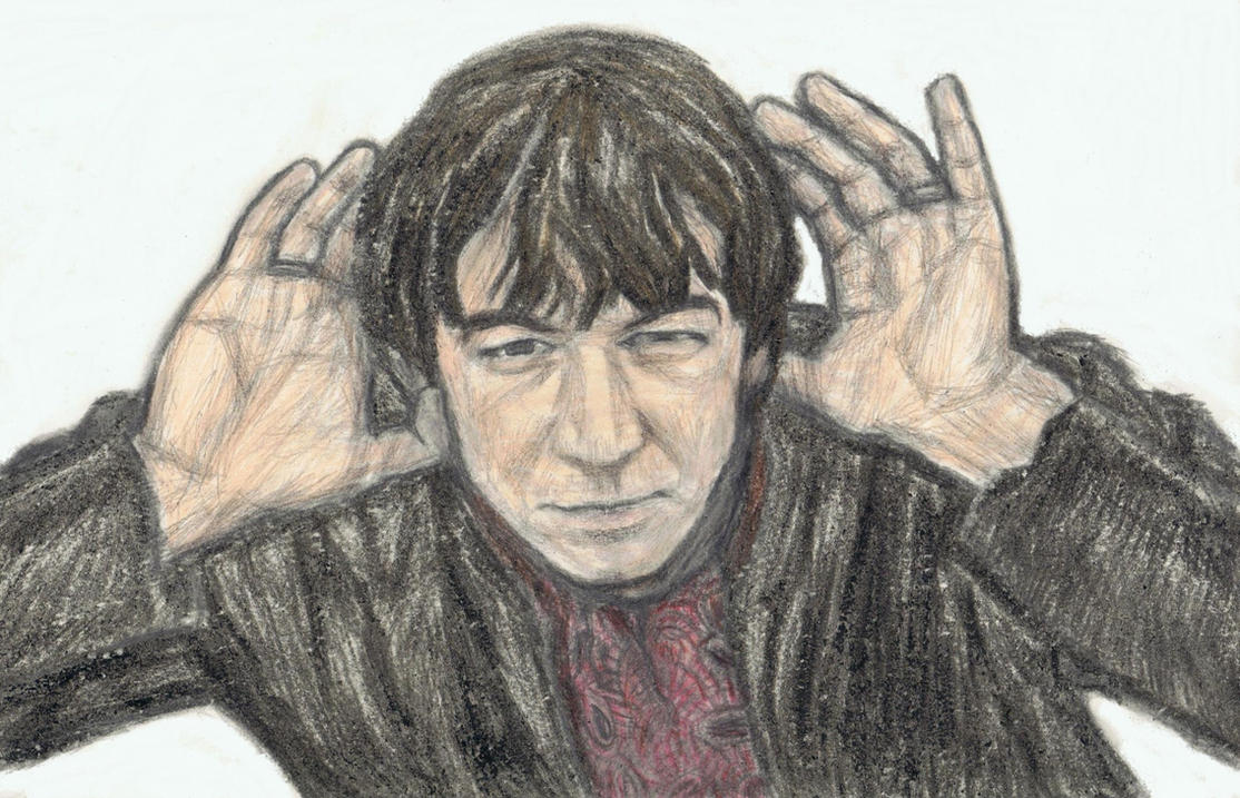 Eric Burdon cupping his ears by gagambo