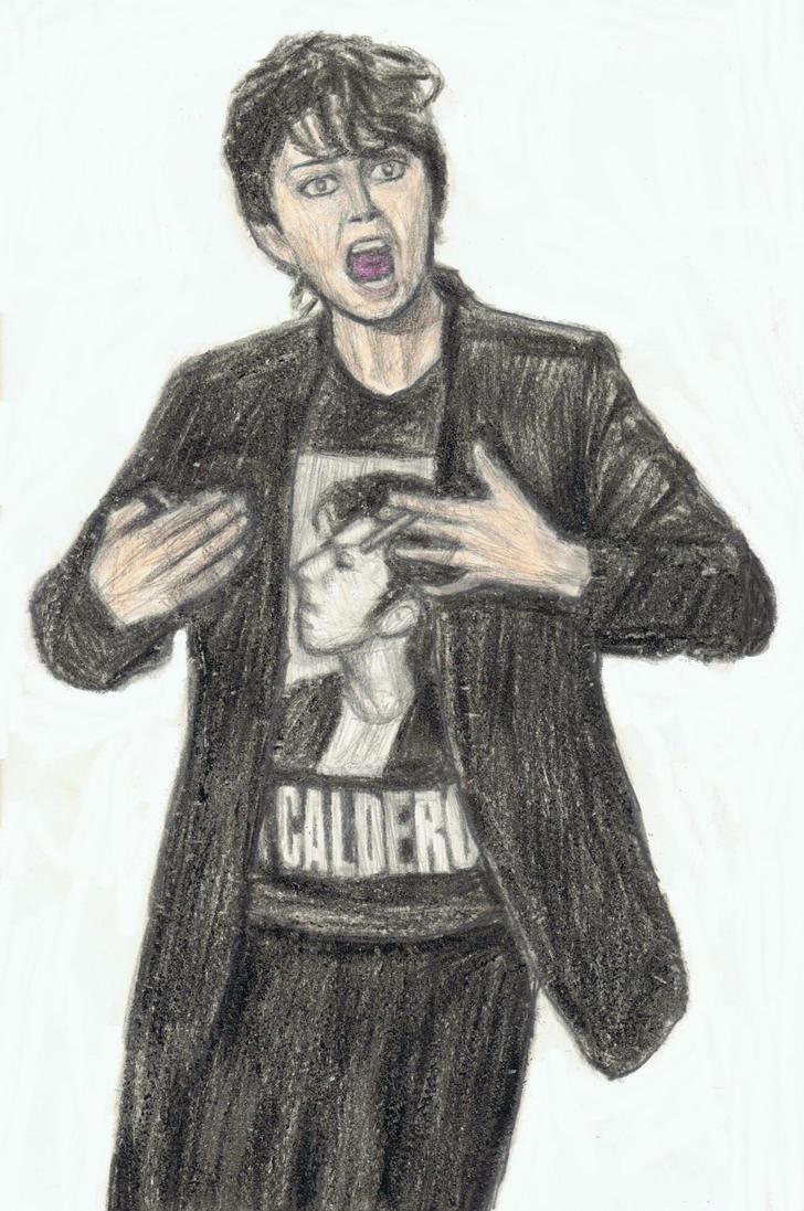 Jo Calderone wearing a Jo Calderone shirt by gagambo