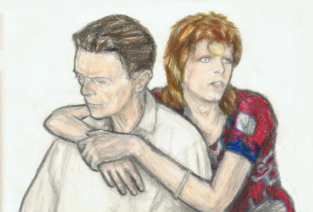 Ziggy Stardust loves Valentine's Day by gagambo