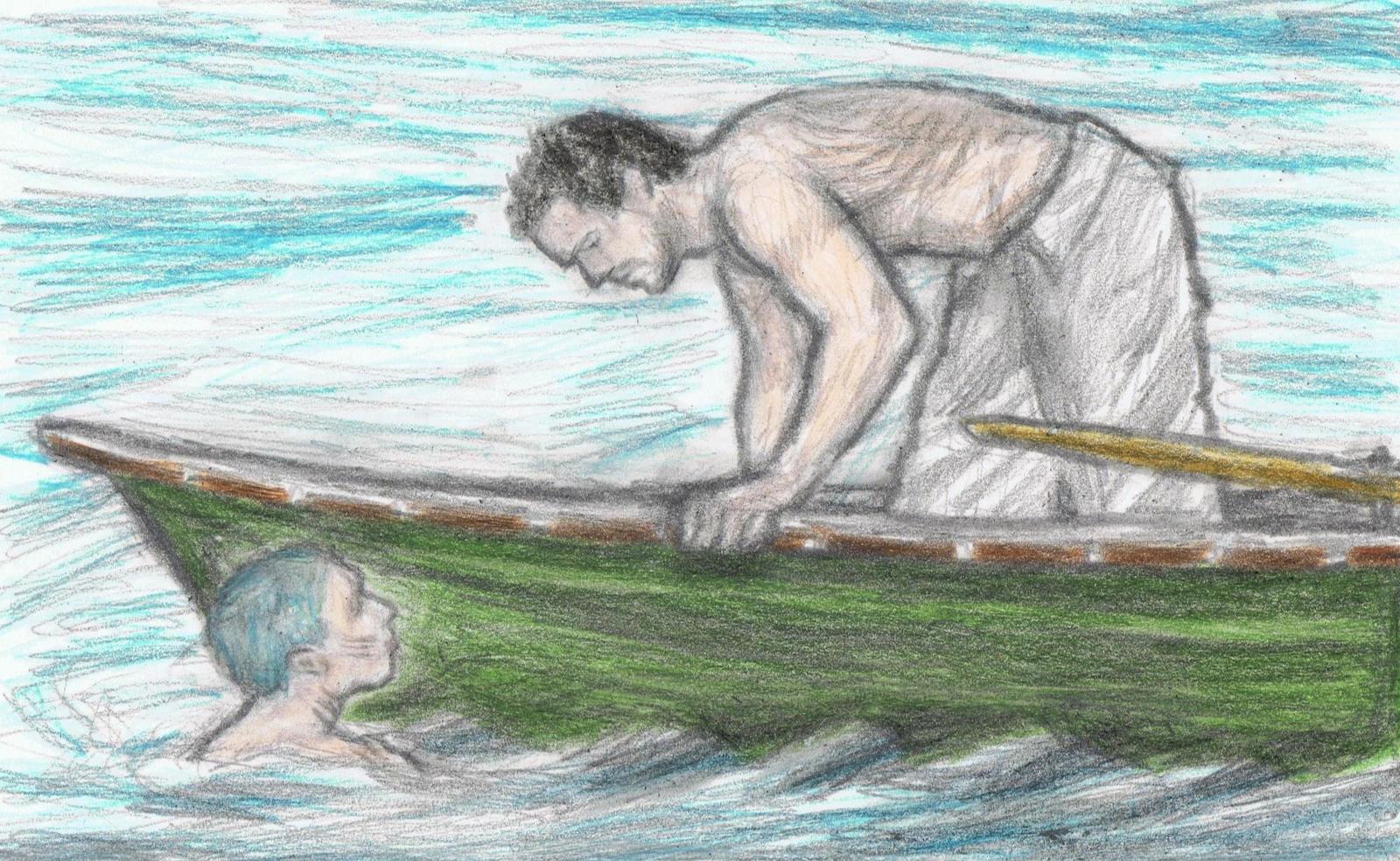 Yuyi the mermaid meets Taylor by gagambo
