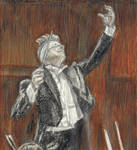 David Bowie as a conductor