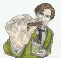 Professor Lupin feeds you chocolate