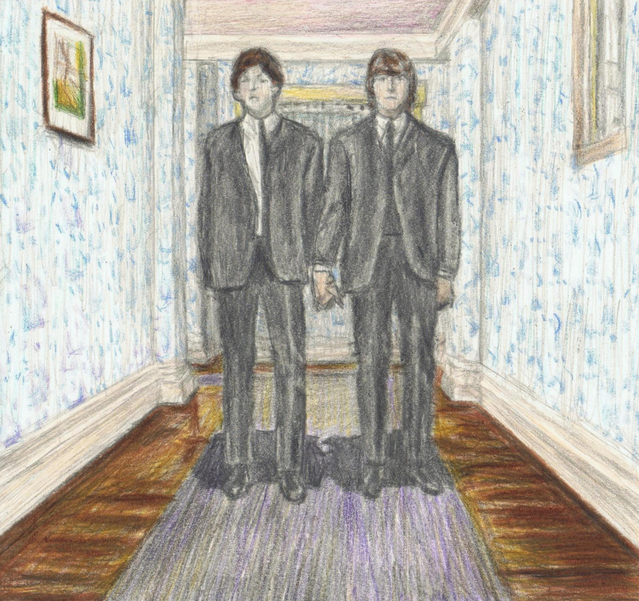Lennon McCartney on Shining by gagambo