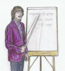 Learning Sanskrit with George Harrison