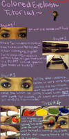 Colored Eyelash Tutorial by MaliceMidnight