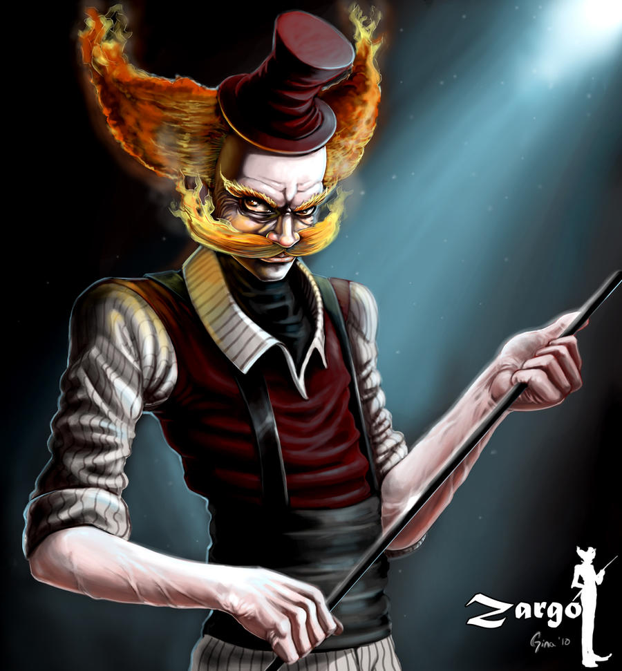 Zargo the Ringmaster by GSalvador on DeviantArt