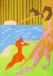 The Fox And Squirrel