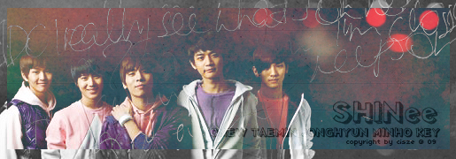 SHINee banner by ceci0709
