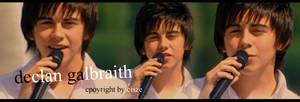 singing Declan