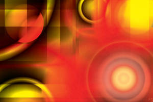 Abstract in Reds and Yellows