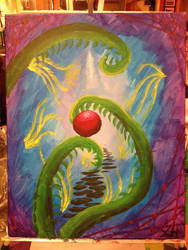 Bottle and Bottega Abstract