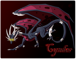 Corrupted Cynder by Jewel-Thief