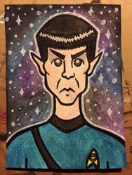 Mr. Spock by spaceradish