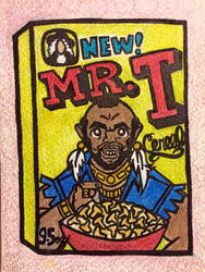 Mr. T Cereal by spaceradish