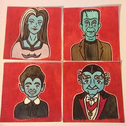 The Munsters by spaceradish