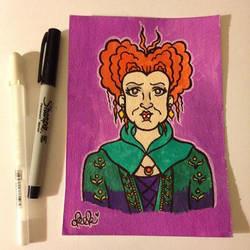 Winifred Sanderson by spaceradish