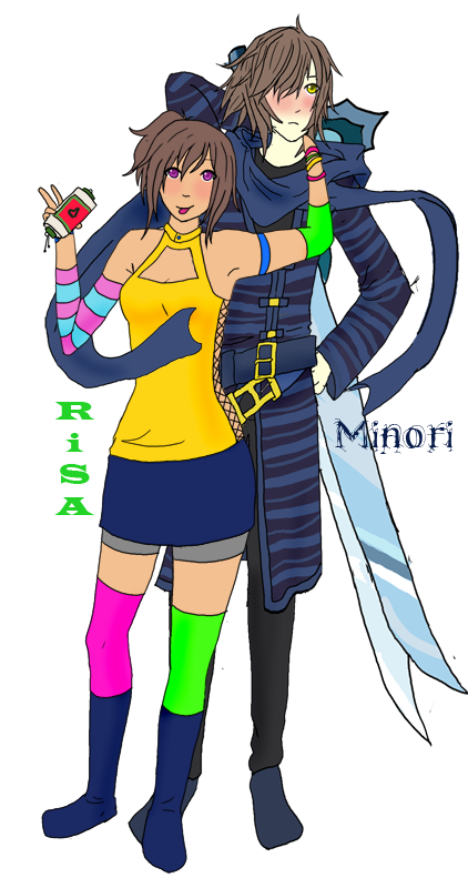 oc reff book pg risa n minori by YAY94