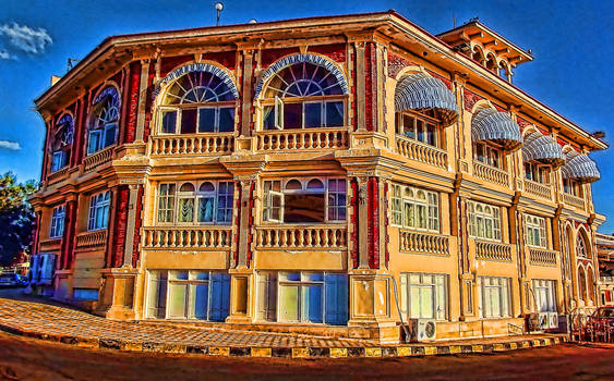 old alexandrian building