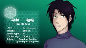 Data-card [Hirai Kazuki]