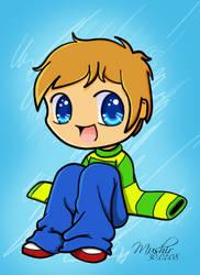 Happy boy by mushir